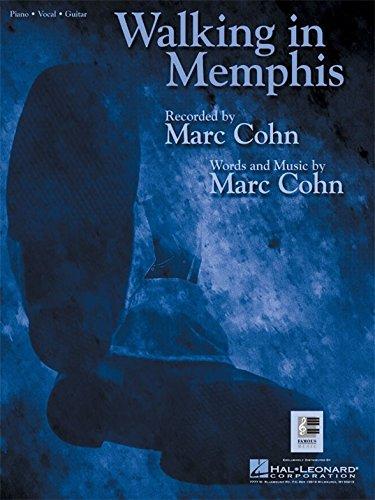 Marc Cohn: Walking In Memphis. Partitions pour Piano, Chant et Guitare(Boîtes d'Accord)