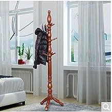 Perchero Astillero Perchas de madera maciza Perchas de dormitorio Bold Plus Nogal alto Color