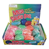 Squishy Mesh Slime Balls (Pack of 12)