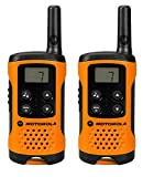 Motorola T41 Walkie Talkie - Orange (Pack of 2)