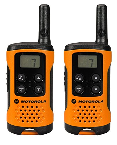funkgeraete mit headset Motorola TLKR T41 PMR Funkgerät mit LC-Display orange