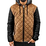 Just Rhyse Herren Jacken / Winterjacke Quilted beige L