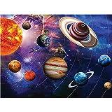 YDPTYANG Adultos Madera Puzzle 1000 Piezas Paisaje del Sistema Solar Niños Juego Clásico Ocio Arte Toys Puzzles