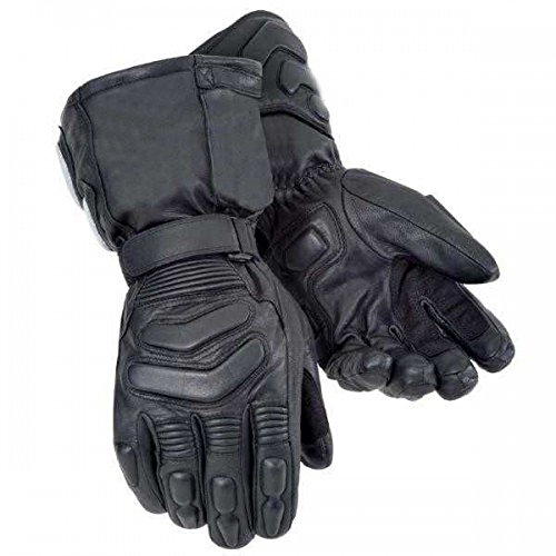 Bikers Gear Australian Storm Winter Thinsulate Kevlar e Hipora guanti impermeabili, colore: Nero, taglia: M