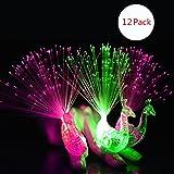 Doigt Lampe, Dsaren 12 Pcs LED Créatif Coloré Jouets de Nouveauté Articles de Fête cadeau pour Concert, Spectacle, Mariage et Festival