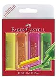 Faber-Castell 154604 Textmarker Textliner 1546 sortiert
