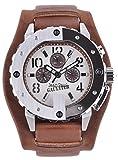 Jean Paul Gaultier Herren Analog Quarz Uhr mit Edelstahl Armband 8500205