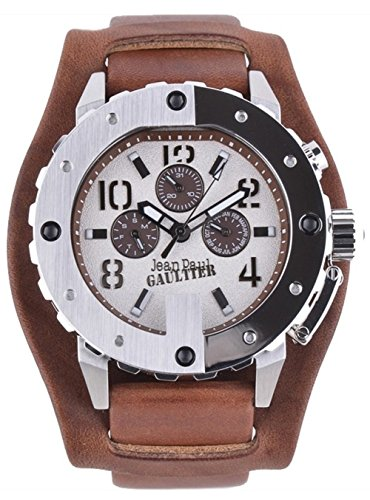 Jean Paul Gaultier da uomo orologio da polso analogico al quarzo in acciaio inox 8500205