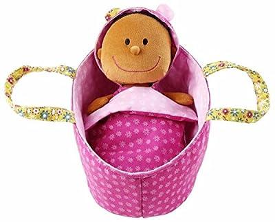 Lilliputiens 86062 Baby Zoe - Muñeca de juguete en capazo por Lilliputiens