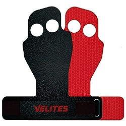Velites Handschutz, Grip- Bandagen Shell Flexy für Crossfit, Fitnessstudio oder Training. (Medium)