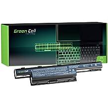 Green Cell® Extended Serie Batería para Acer Aspire 5551 5552 5733 5741 5741G 5742 5742G 5742Z 5749 5749Z 5750 5750G 5755G Ordenador (9 Celdas 6600mAh 10.8V Negro)