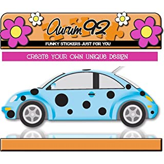 Aurum92 Ladybird Black Spots - Car Stickers - New