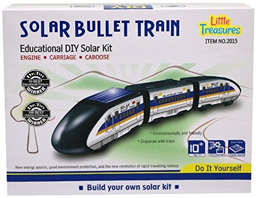 Little Treasures Solar Bullet Train Educational Learning Solar Kit  available at amazon for Rs.2599