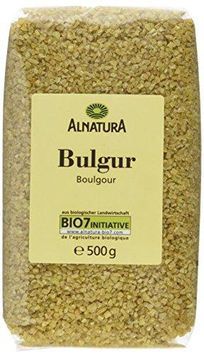 Alnatura Bio Bulgur, vegan, 7er Pack (7 x 500 g)