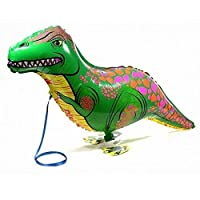 Walking Pet Balloon Animal Airwalker Foil Balloon Kids Children Fun Party Decors Dinosaur
