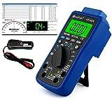USB Automotive Multimeter HP-90K mit Induktionszange zur Drehzahlmessung HP-705A und