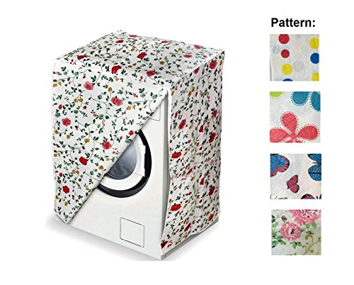 Ducomi® turbo wash - fodera copri grandi elettrodomestici da bagno e cucina - ideale per lavatrice e asciugatrice - impedisce il deterioramento della macchina - 82 x 62 x57 cm (1 pezzo, random colors)