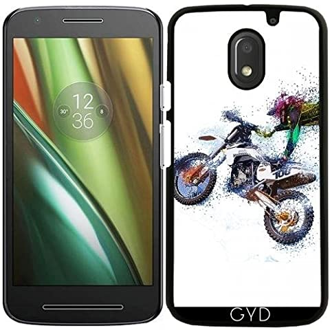 Funda para Moto E (3 generación) - Deporte Moto Cruz Motocicleta by WonderfulDreamPicture