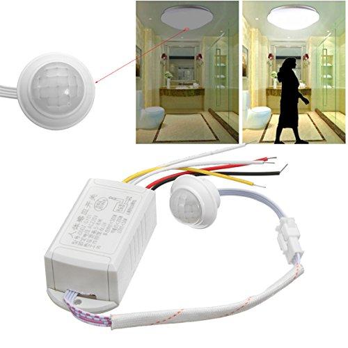 Ils - 220V 5-8M IR Infrarot-Körper-Bewegungs-Sensor-automatischer Intelligenter Heller Lampen-Steuerschalte (220v Bewegungs-sensors)