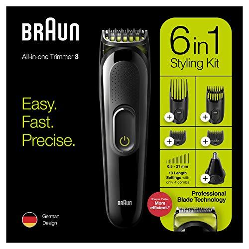 Recortadora Braun MGK3221 6 en 1 por sólo 22,77€