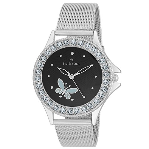 Swisstone-Analogue-Black-Dial-Girls-and-Womens-Watch-VOGLR501-BLK-CH