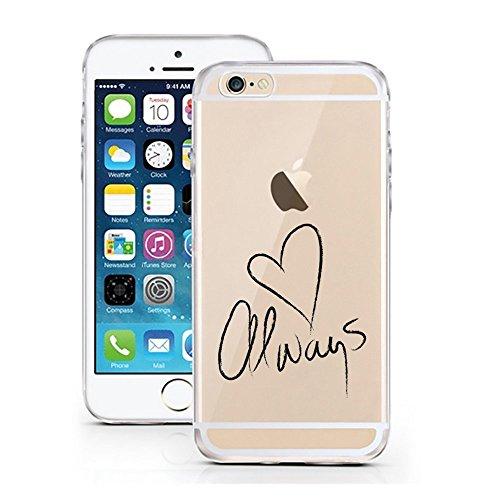 Blitz® FOYER motifs housse de protection transparent TPE caricature bande iPhone Vodka M4 iPhone 7PLUS Always M3