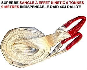 KINETIC ! ENORME SANGLE 9 TONNES 9 METRES ! USAGE EXTREME ! RAID PREPARATION 4X4 FAUCET DONALDSON TOPSPIN SNORKEL
