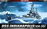 Picture Of Academy 1/350 USS Indianapolis (CA-35) # 14107