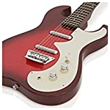 Guitare Électrique Silvertone 1449 Rouge Métallisé