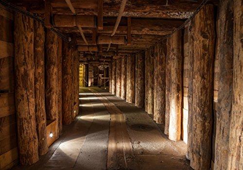 Fototapete Salzbergwerk Polen KT289 Größe: 400x280cm Tapete Salz Bergwerk Untertage