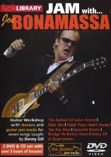Lick Library: Jam With Joe Bonamassa (2 DVD & CD Set) [Edizione: Regno Unito]