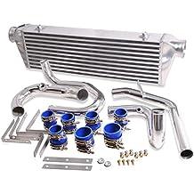 UK-Performance-Parts ZZ03818 Intercooler de Montaje Frontal, Aluminio
