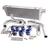 En alliage d'aluminium fmic Kit Refroidisseur intermédiaire pour support avant pour VW Golf MK4/Bora/Jetta/Audi A3A4A6TT Seat Leon/Skoda Octavia 1.8T