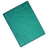 BEETEST A4 Alfombrilla de Corte PVC profesional autocuración corte Mat para acolchar costura arte corte,30 x 22 cm Verde