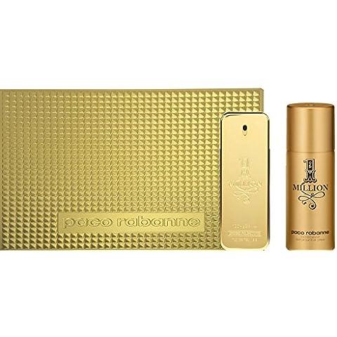 Paco Rabanne 1 Million - Agua de perfume, 2 piezas, 200 gr