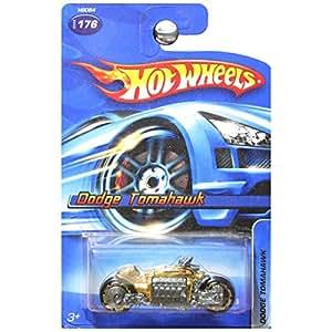 Hot Wheels Dodge Tomahawk Motorcycle Gold #176 No Series