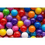 200 bunte Bälle in 10 Farben