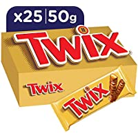 TWIX cerrojo de chocolate 25 X (2 x 25 g) cartón