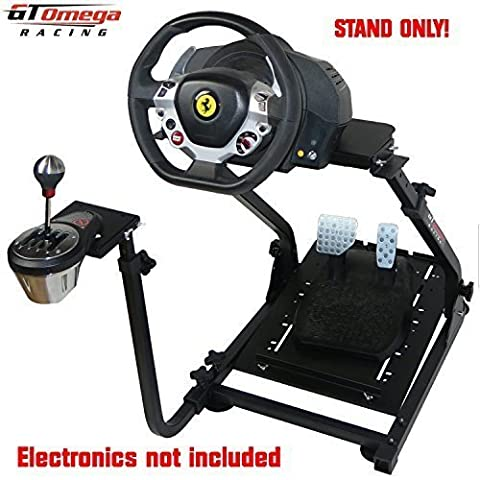 GT Omega Steering Wheel stand suitable For Thrustmaster TX Racing Wheel Ferrari Italia Edition 458 & TH8A Shifter
