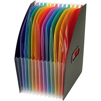 """Viquel 111187-05 Trieur de Bureau """"Corner Box"""" 12 Positions Rainbow Class"""