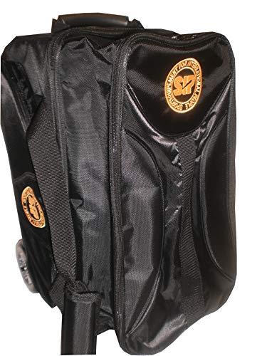 SIP 2-er-Roller Bowlingtasche, Schwarz, One Size