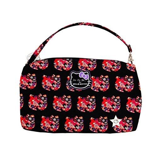 Ju-Ju-Be 14AA01HK-HSS-NO SIZE Be Quick Hello Kitty - Wickeltasche, klein, 29 x 3.5 x 18 cm, Strawberry Stripes Hello Perky