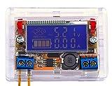 Yeeco Einstellbare DC-DC-0-16.5V Buck Converter Step Down Stromversorgung Spannungsregler Amperemeter Voltmeter Volt Amp mit Transparent Shell