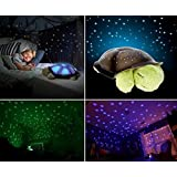 Twilight Turtle Night Sky Lamp Projector LED Light Star Music Toy For Baby Kids