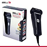 iBELL BS340 Rechargeable Men's Shaver with pop up trimmer, Water Proof, Black