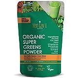 Next Gen U | Green Superfood Smoothies Grünes Pulver 150g | Vegan Green Detox Nahrungsergänzungsmittel | Gesundes Powerfood | Über 20% Protein | Acai Chlorella Matcha Maca | Fokus & Immunsystem Schutz