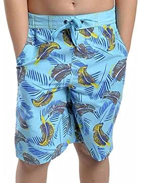 Palo de golf para niños diseño de impresión de tiburón niños pantalón corto de Bañador para niño pantalones de...