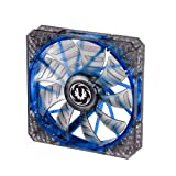 BitFenix 140mm Spectre PRO Fan with Blue LED - Black