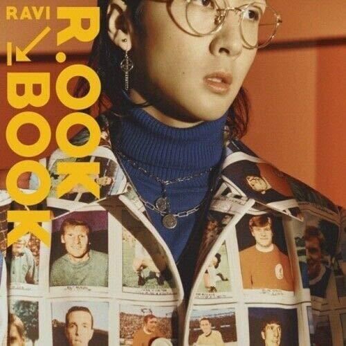 Ravi VIXX [R.OOK Book] 2nd Mini Album CD+1p Folded Poster+96p PhotoBook+1p Tag Card+1p PhotoCard+12p Accordion Book+Extra PhotoCard Set+Tracking K-Pop Sealed