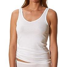 f8aac0d33498b1 Mey 2er Pack Damen Unterhemd 2000-25061 - Farbe Weiß, Nude - Größe 38